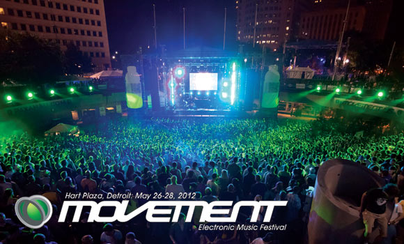 Movement 2012 Lineup Revealed