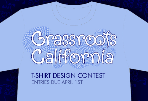 Grassroots California T-Shirt Design Contest
